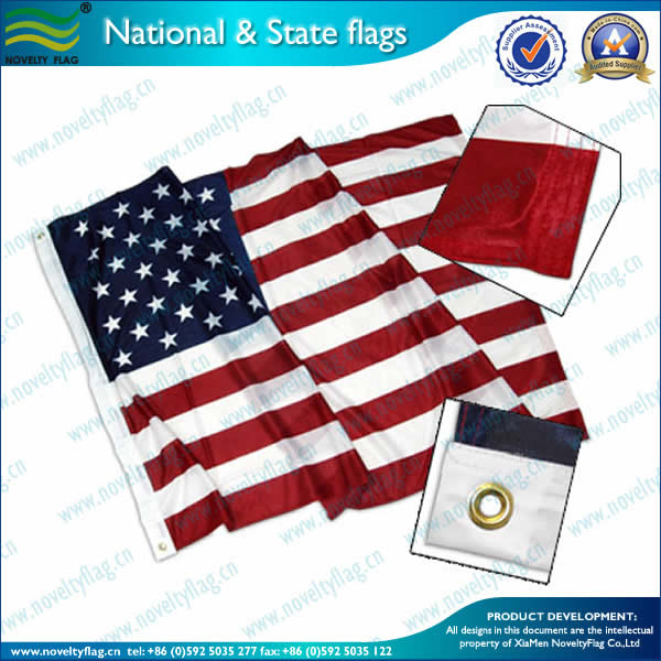 US  flag,120gsm Knitted polyester