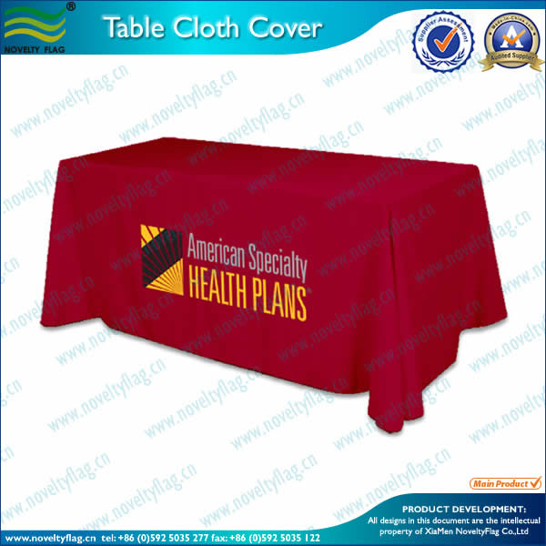 Polyester table cover