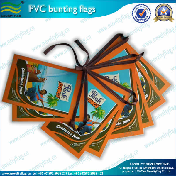 0.3mm PVC bunting flags