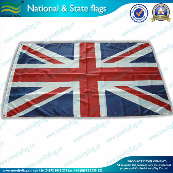 GB/UK flag,100D woven polyester
