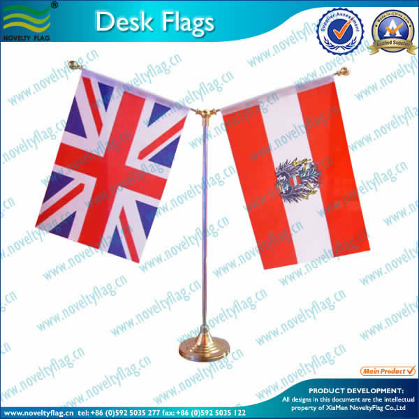 Table flag, 2flags holder