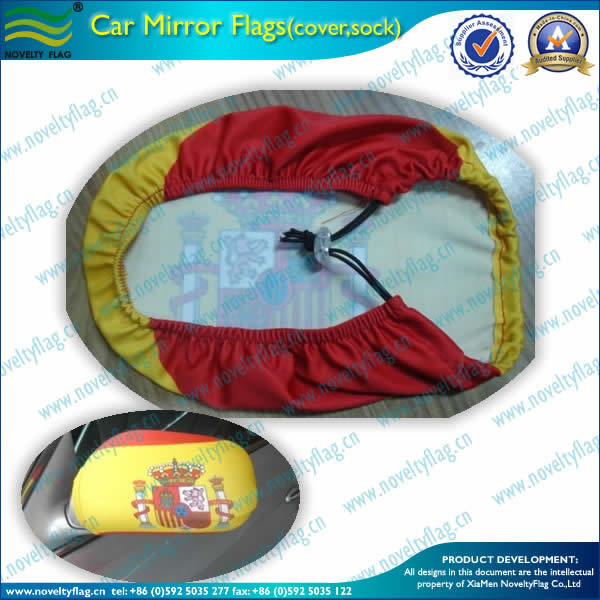 Spain car mirror cover/sock