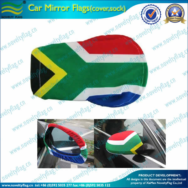 South Africa car rear mirror sock