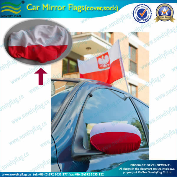 rearview mirror flag sock