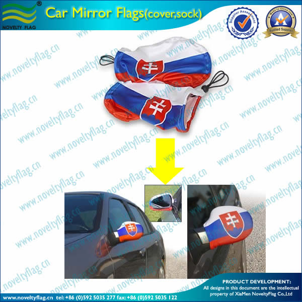 Car mirror flag,national flag design