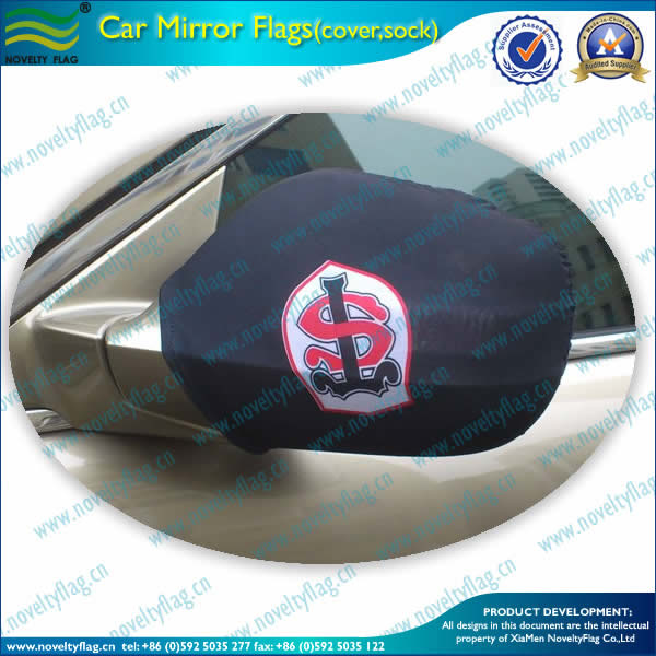 Logo printing car mirror cover