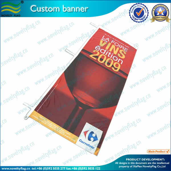 Full color banners for mrketing