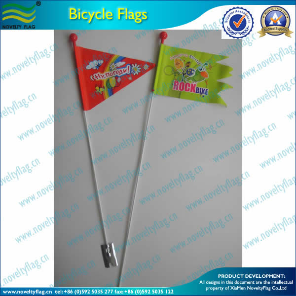 Bicycle safety flag