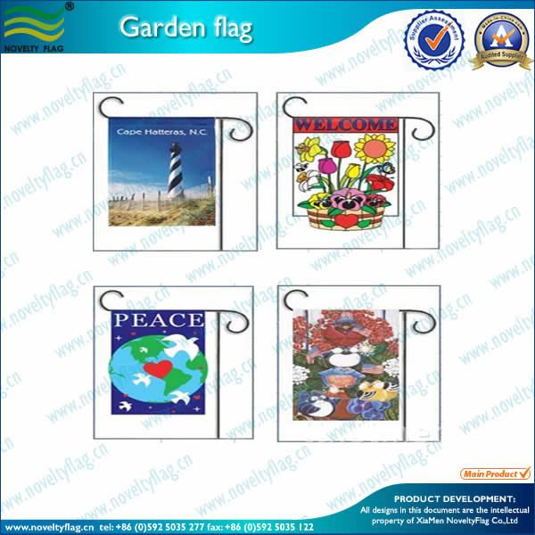 Coast Guard garden flags