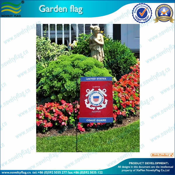 Garden flags,steel pole(3sections)