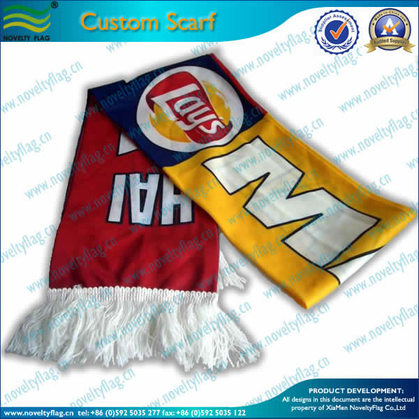Printing scarf for sports