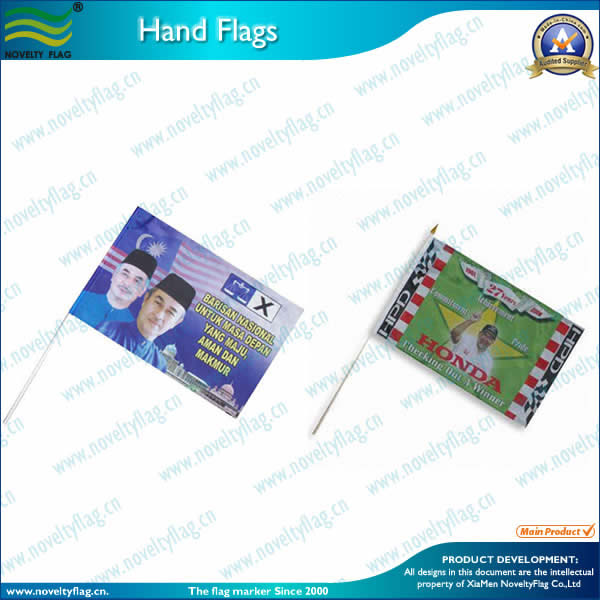 Hand Flags - Custom Printed