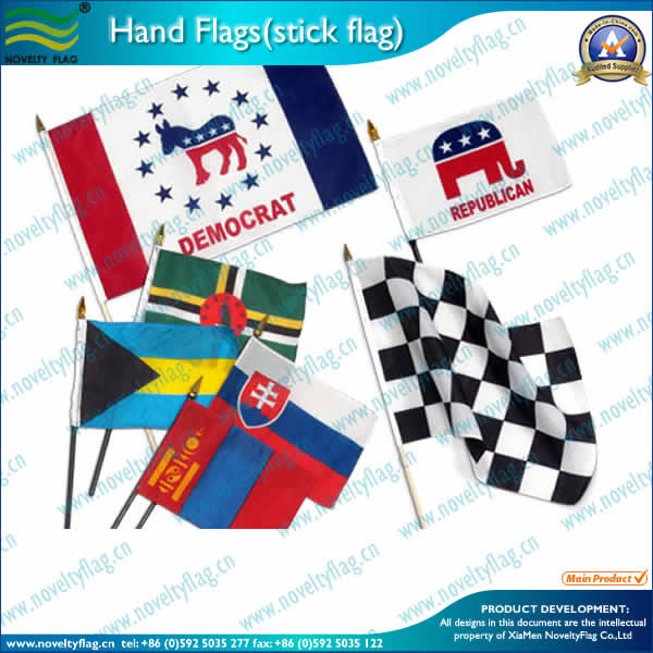 Small size stick flags