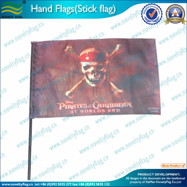 Pirate hand flag