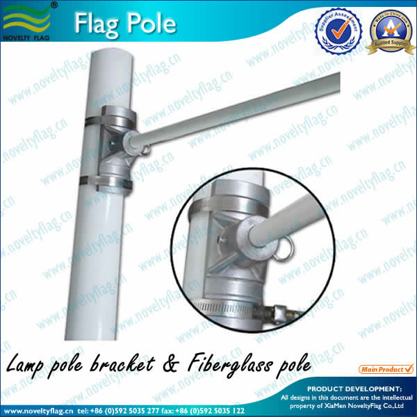 Street Pole Arm and Aluminum Bracket