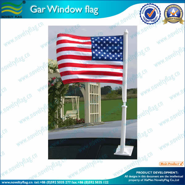 Premium car flag 1ply