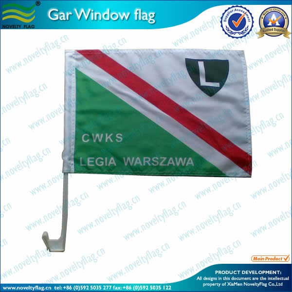 Standard car flag 1ply