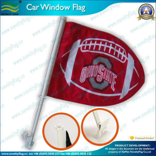 Rugby car flag