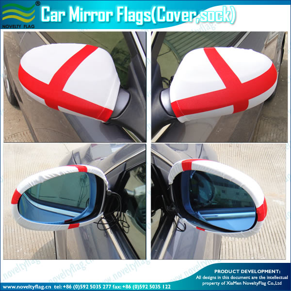 CAR WING MIRROR FLAG