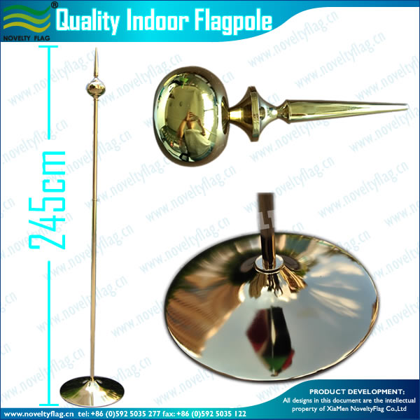 QUALITY INDOOR STANDING FLAGPOLE