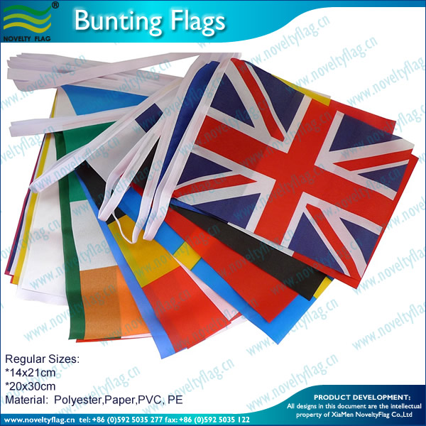 CUSTOM BUNTING FLAGS